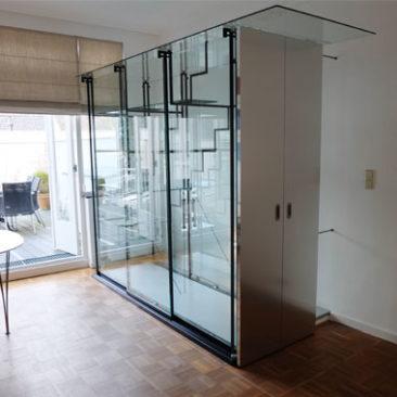 Trap afsluiting / vitrine